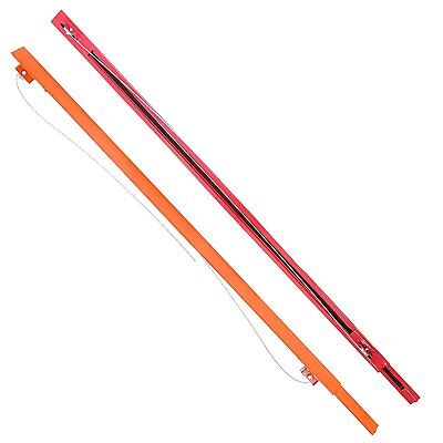 GypTool 4 ft. Drywall Lifter Panel Lift & Installation Jack Extension - Orange