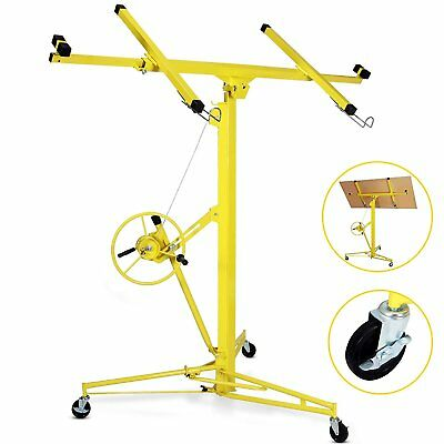 Idealchoiceproduct 16' Drywall Lift Rolling Panel Hoist Jack Lifter Construction
