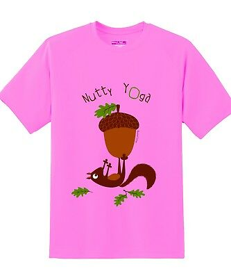 Cool Unique Funny Branded Indian, Yoga T shirt for Kids, Nutty Yoga