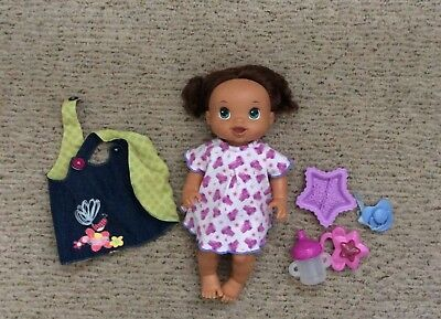 Baby Alive doll with accessories euc