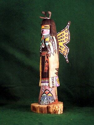 Hopi Kachina Doll - Hon, the Butterfly Kachina - Beautiful!