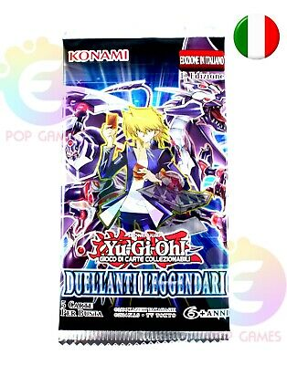 YU GI OH Duellanti Leggendari Bustine Carte booster Box card Konami in ITALIANO