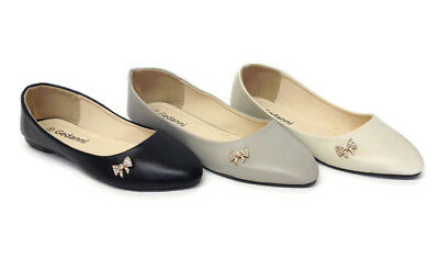 8 Pairs Ladies Womens Flat Dolly Pumps Ballet Shoes Wholesale Clearance Job Lot