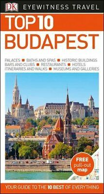 Top 10 Budapest (DK Eyewitness Top 10 Travel Guide), DK, New Book