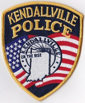 Kendallville IN Indiana Police Patch NEW