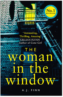 The Woman In The Window - A J Finn (Hardcover) *BRAND NEW*