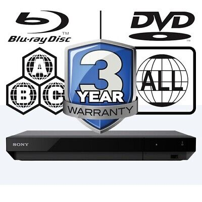 Sony UBP-X700 All Zone Code Free MultiRegion 4K Ultra HD Blu-ray Player