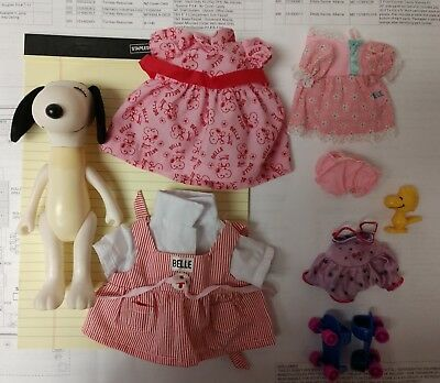 1966 Kickerbocker United Feature Syndicate Bella with Clothing and Accessories