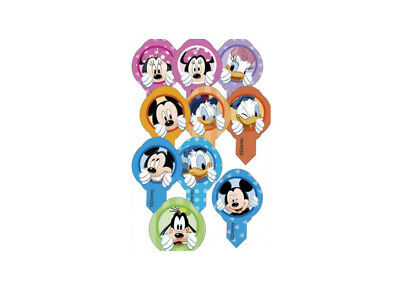 Decoshape Mini Cialde Ostia Personaggi Disney 30 Pz Assortiti 72089 Topolino