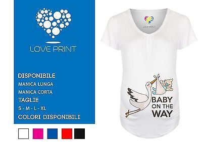 T SHIRT PREMAMAN Baby On The Way