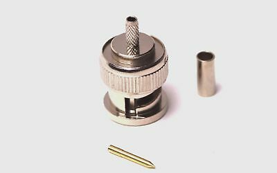 BNC Crimp plug for RG174 Cable 50 ohm