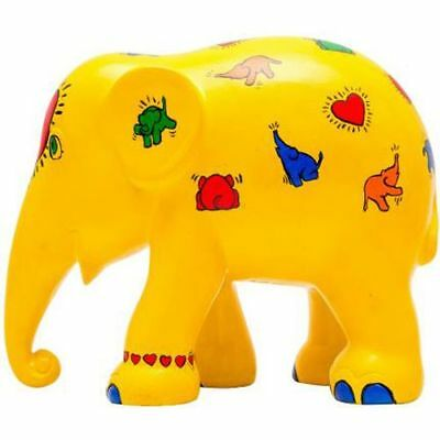 Elefant der ELEPHANT PARADE - Hommage to Keith Haring - 10cm - limitiert
