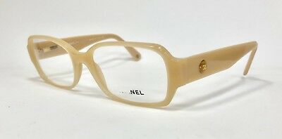 53780fe68ee CHANEL FRAMES GLASSES In Clear With Leather! Model 3264 660 New ...