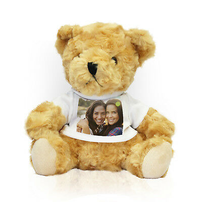 Custom Photo Teddy Picture T-Shirt Soft Cuddly Personalized