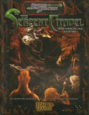THE SERPENT CITADEL - SWORD SORCERY D&D ed. White Wolf