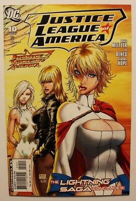 Justice League of America #10 DC Comics 2007 Michael Turner Cover