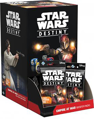 Star Wars Destiny: Empire at War booster box, Unopened (36 packs)