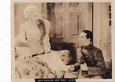 Original Jean Harlow And Ben Lyon Circa 1930 Hells Angels Movie Still Photo Rare