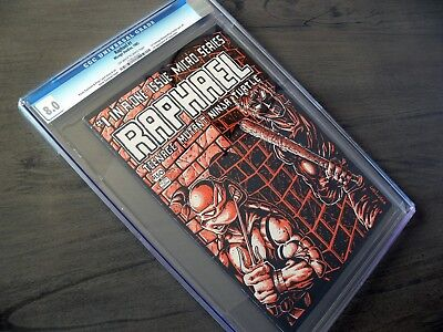 RAPHAEL TEENAGE MUTANT NINJA TURTLES #1 - CGC 8.0 * 1st * FIRST PRINTING Mirage