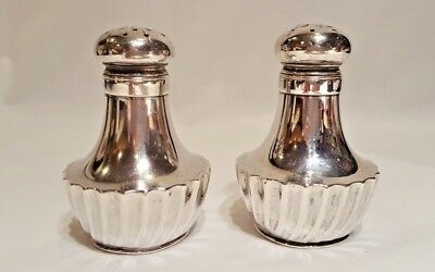 Antique Sterling Silver Gorham Salt and Pepper Shakers #2245