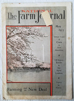 Vintage Magazine The National Farm Journal May 1933