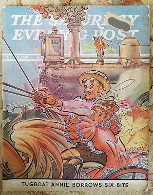 Vintage The Saturday Evening Post Magazine May 1939