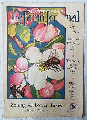 Vintage Magazine The National Farm Journal May 1934
