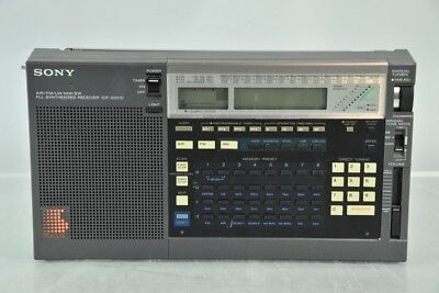 a02e11- Sony PLL Synthesized Receiver ICF-2001D Radio