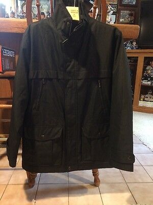 Michael Kors Men's Winter Jacket Large Removable Lining All Zip Nice Condition