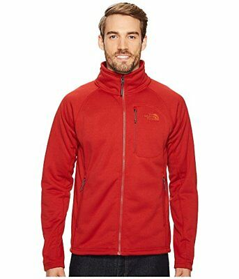 The North Face Men's Timber Full Zip Jacket-Cardinal Red-MED-NWT-Retails $99
