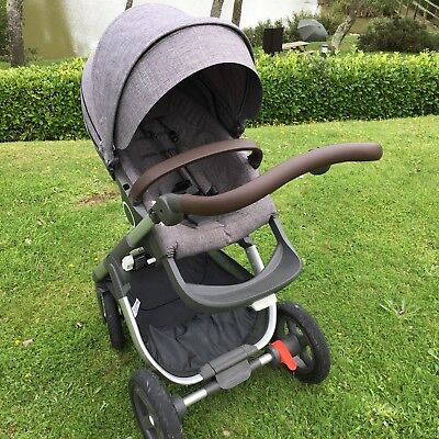 Stokke Trailz Faux Leather handlebar and bumper bar covers