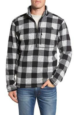 The North Face Men's Pullover~Novelty Gordon Lyons~Plaid~MED~NWT~Retails $90