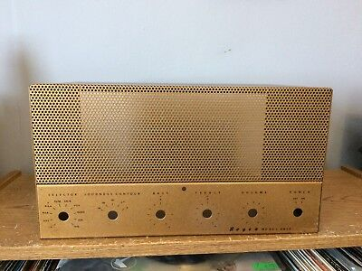 Vintage Bogen DB20 DF Top Cage Cover for tube amplifier Beautiful Condition
