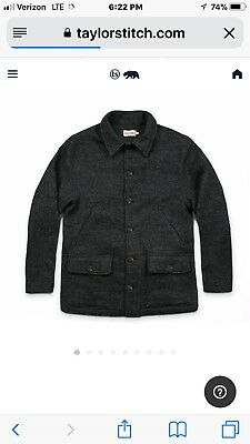 Taylor Stitch The Submariner Jacket in Dark Charcoal