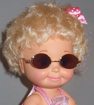 BROWN SUNGLASSES for Baby Face Galoob Dolls