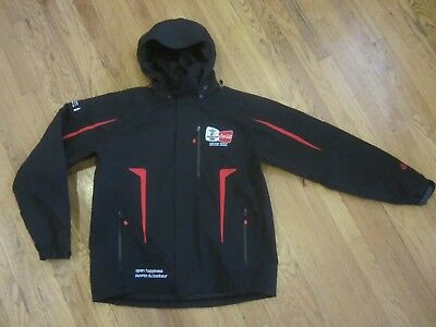 2010 Vancouver Olympics Coca Cola Recycled Bottle  Insulated Jacket Sz M (A002)