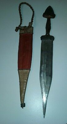 Antique Arabic Islamic Tribal African Knife Dagger? Very Old