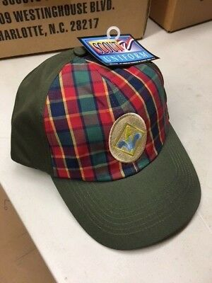 Boy Scouts of America Webelos Cap M/L New w Tag Vintage Hat Twill BSA Adjustable