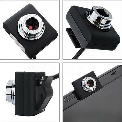 Mini HD Megapixels USB 2.0 Webcam Camera Web Cam for PC Computer Laptop PC MSN