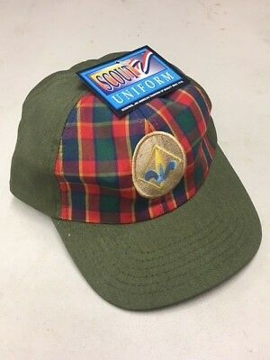 Boy Scouts of America Webelos Cap S/M New w Tag Vintage Hat Twill BSA Snapback