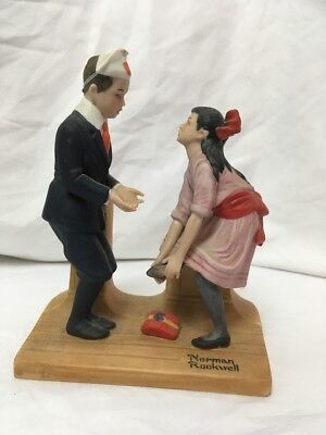 First Dance Danbury Mint The 12 Norman Rockwell Porcelain Figurines 1980