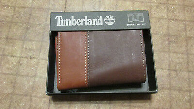 3335f9be61eb6 TIMBERLAND TRIFOLD WALLET Brown Tan free shipping new -  19.90 ...