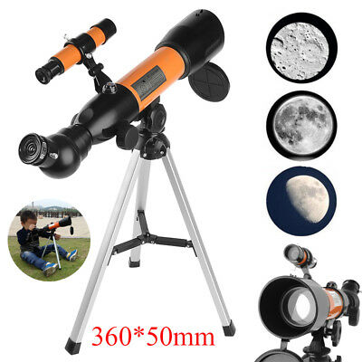 360*50mm 120x Zoom Night Vision Monocular Refractive Astronomical Telescope 【AU】