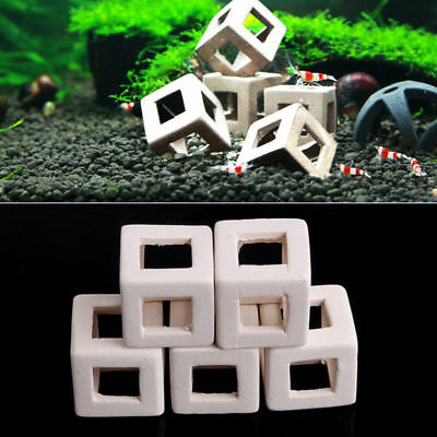 Small Fish Shrimp Ceramic Home Shelter Cave Breeding For Aquarium Fish-Tank