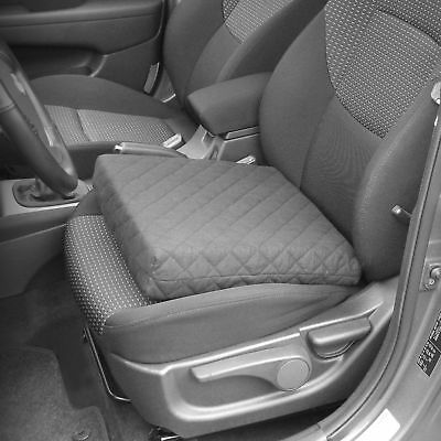 Car Seat Pads Basic Black Relaxing Pillow Cushion Booster Seat Drivers Comforter