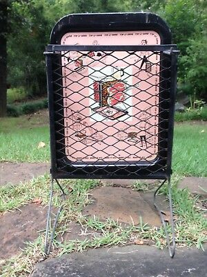 Vintage Retro Mid century Hang It All Metal BBQ Grill & Tray