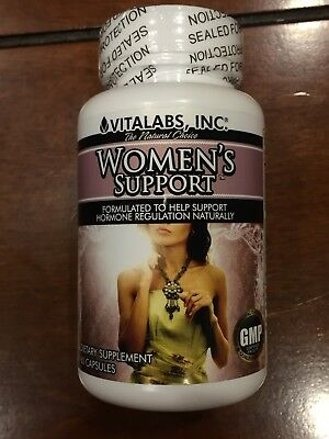 Womens support supplement for natural hormone regulation 60ct by Vitalabs