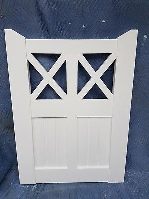Timber Gates 1225x890mm VICTORIAN COLONIAL GATES KARRI WOODEN PRIMED FENCE GATE