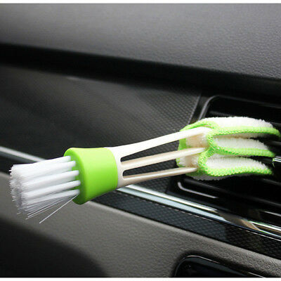1* Keyboard Car Truck Air-condition Vent Clean Tool Window Blind Brush Hand Tool