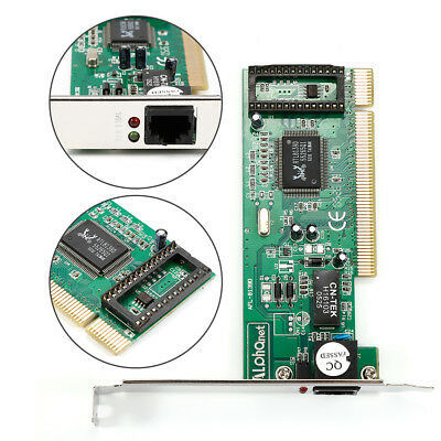10/100 Mbps RJ45 Ethernet NIC LAN Network PCI Card Adapter for Computer PC AU